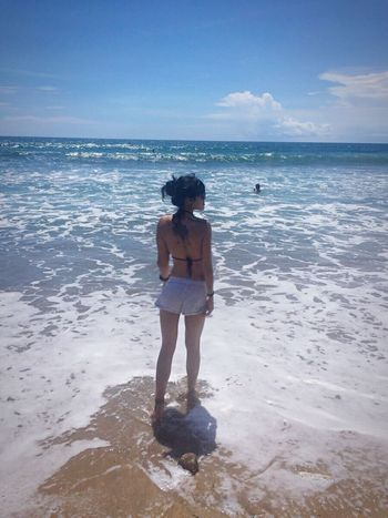 Warm sun..beach..i'm in love Bali, Indonesia Kutabeach Gettanned Sunbathing Beachlife That's Me Check This Out Hello World Enjoying Life Relaxing