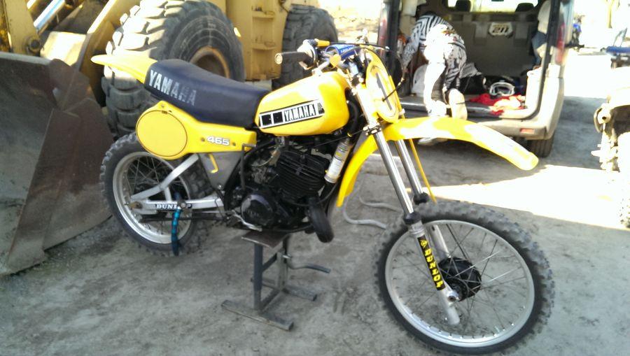 Yamaha Old School Motocross Nord Yamaha