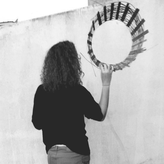 Blackandwhite Circles Artesanato