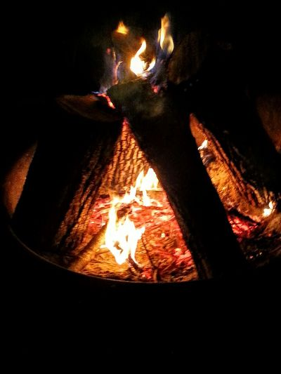 Lake Life Camping Camp Fire Fire Let It Burn Smores Anyone Warming Up
