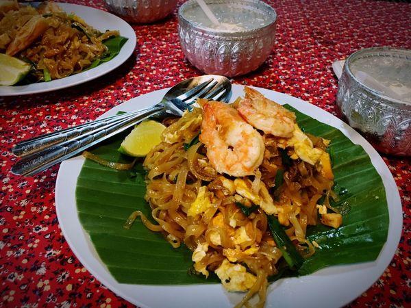 Thailandfood Thai Food Padthai Food Padthai Thai Noodle Style Shrimps Foodphotography