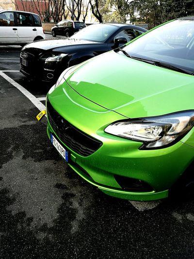 TFSI o CDTI... Mmmmm First Eyeem Photo Green Opel Opelcorsa OPC Opc Line Cdti Audi Auditt TFSI