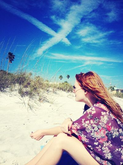 Redheads hippies joints and dreamin DayDreamN Hippies! Life Is A Beach Bestfriend