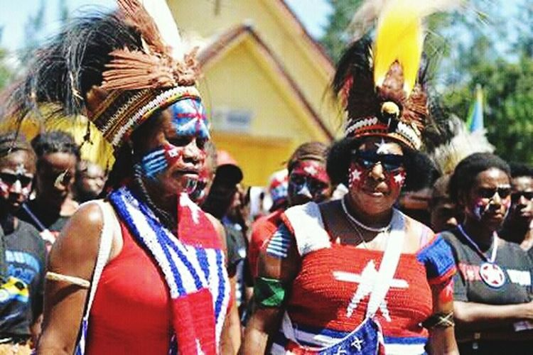 West Papua People West Papua Politic Of Freedom West Papua Want To Free Of Indonesia Colonial. Papua Free Of Indonesia Colonial West Papua Girl West Papua Women Social Issues Countrylife Patriotism West Papua Flag Large Group Of People West Papua Culture Uniform Of West Papua Tradition Young Women