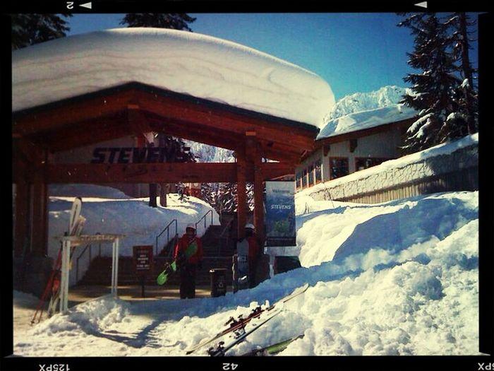 Throwback Snow Snowboarding Washington