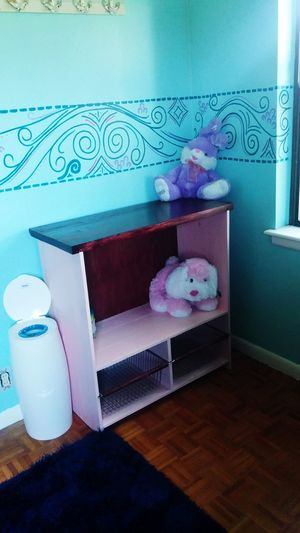 Finished with the changing table i made for my daughter. Changing Table Diy Project DIY Stuff Handmade Poop Deck Baby Room  Nursery Decor