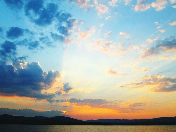 Sunrise Leak Mountains Fishing
