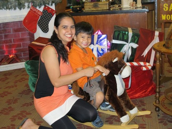 We Are Family Christmas Mother And Son Mom And Son Love Pony Ride Enjoying Life Happy Cheese! Fun