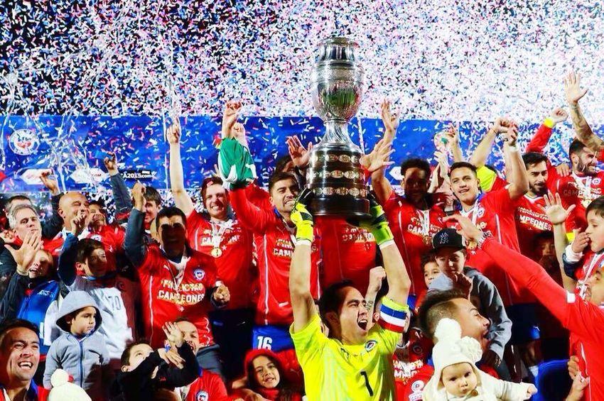Chile CopaAmérica2015 CopaAmérica congrats Chile🇨🇱 1st place en CopaAmerica2015