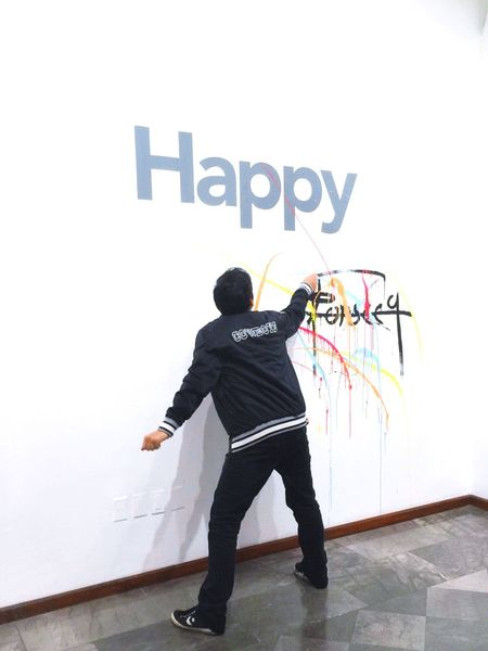 Behappy Art ArtWork Exposition Happiness