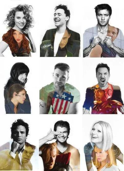 Love this! ♥ Avengers ILoveIronMan Marvel Superheroes