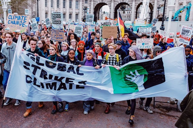 Youth Strike 4 Climate- Students hold protest in London - Check out my Instagram page RobinLDN Politics And Government Climate Change Climate Students March Protesters Protest Demonstrators Group Of People Large Group Of People Crowd Women Real People Leisure Activity Adult My Best Photo My Best Photo