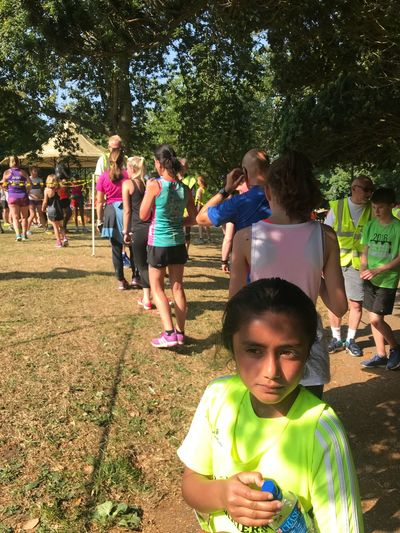 Parkrun Group Of People Real People Plant Tree Women Lifestyles Childhood
