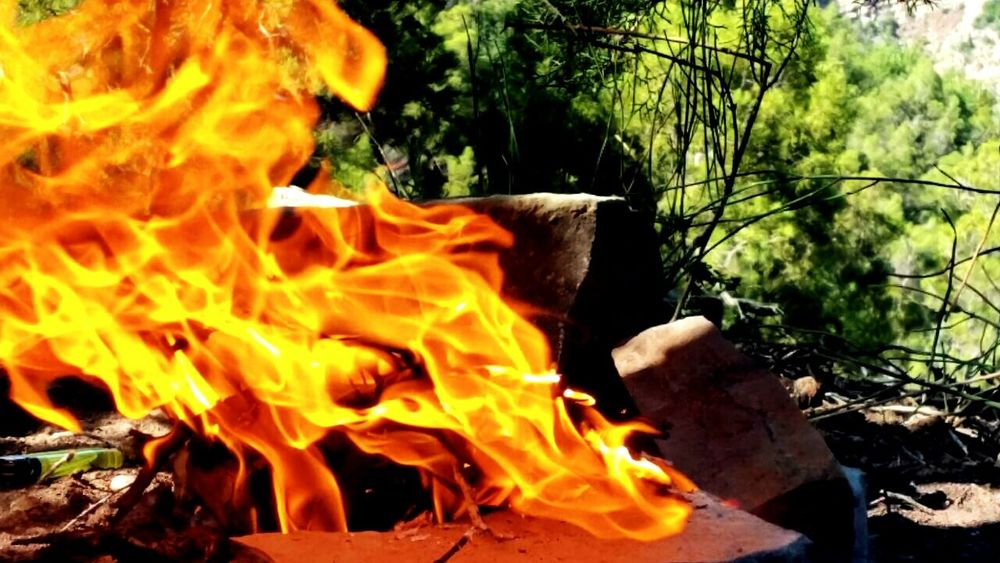 Fire Flame Paradise Valley EyeEm Nature Lover Paradise Valley..😁 In Morroco.. Morocco Agadir Nature