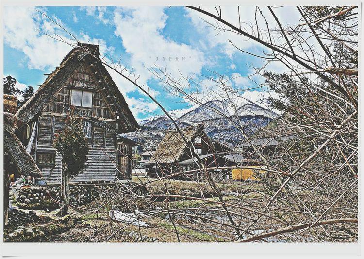 Japan Shirakawa-go Natrual  Good Memory Good Times Hello World Pupular