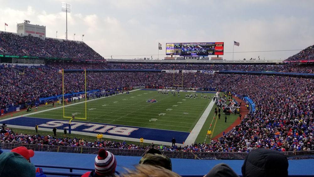 Buffalo vs Patriots Patriots Nation Football Stadium Sport Fan - Enthusiast Spectator Crowd Team Sport People