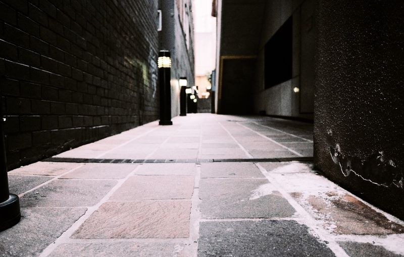 Architecture Built Structure The Way Forward Building Exterior Direction City Street Building Flooring Night Illuminated No People Wall - Building Feature Outdoors Diminishing Perspective Paving Stone