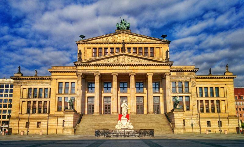 Konzerthaus Berlin, Germnay Konzerthaus Konzerthaus Berlin Berlin Konzert Germany Capital City Gendarmenmarkt Concert Hall  Travel Sightseeing Landmark Building Europe Travel Destinations Architecture