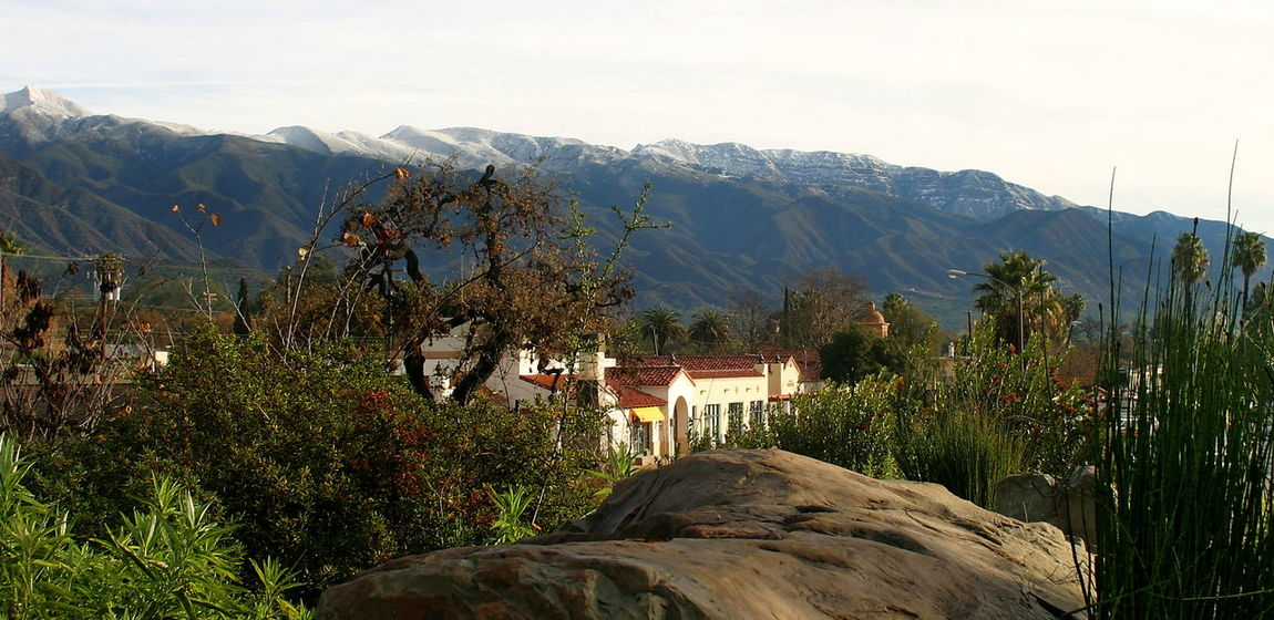 Ojai With Snow Landscape shot of the Ojai valley with snow on the mountains. Buildings California Cold Downtown Forest Ice Landscape Mountain Mountains Nature Ojai Outdoors Panorama Panoramic Park Scenery Scenic Sky Snow Snowy Toursim Travel White Winter