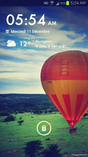 Screenshot Samsung Galaxy S III Themeoftheday Weather