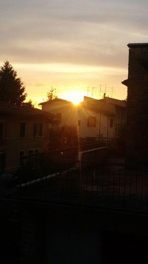 Tramonto Sole Colors Evening Light Evening Sunset