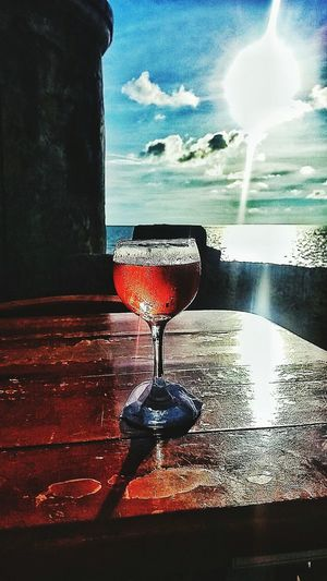 Drink Water Drinking Glass Wineglass Sky Food And Drink Wine Moments Colombia Tierra Querida Colombia EyeEmNewHere Let's Go. Together. Photographer Love♡ Cartagena, Colombia Landscape Sommergefühle EyeEm Selects Wine Not