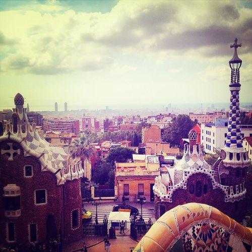 Barcelona • parq guell First Eyeem Photo