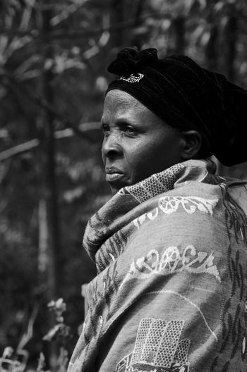 Blackandwhite Uganda  Africa Africanwoman Woman Beauty