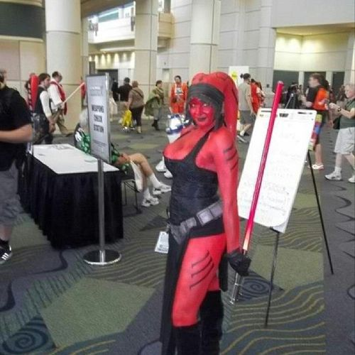 @starwarslover1977 , at Celebration V or could be VI. Lol I've slept since then. Twilek