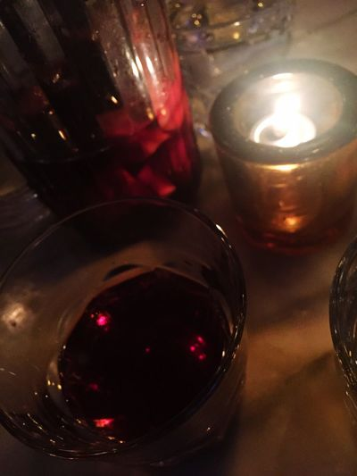 A little sangria before the meal...just a little. What's For Dinner? Tapas at Cha Cha Cha Iphonegrapy