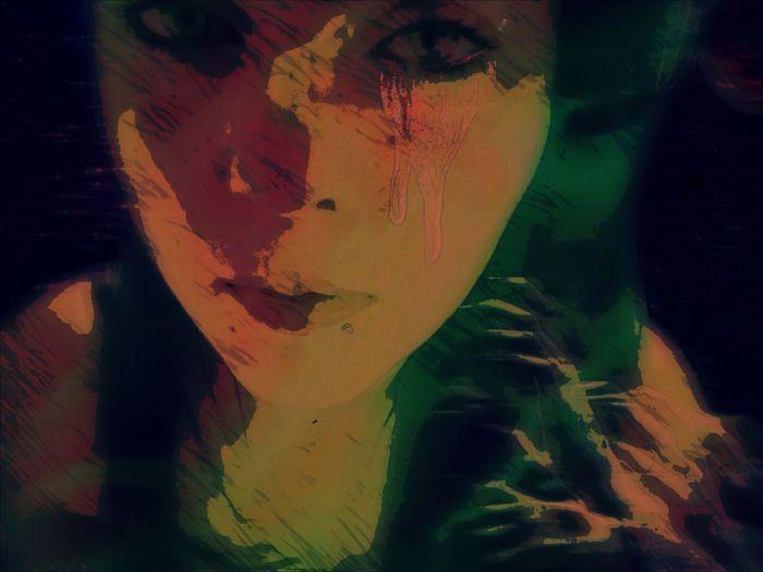The Innovator Story Musically Driven Inspiration Expression Photoeffects Woman Woman Portrait Sadness