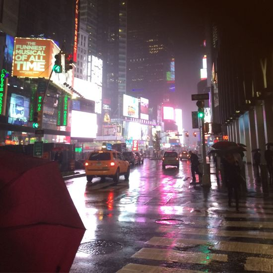 New York near Timesquare November 2015