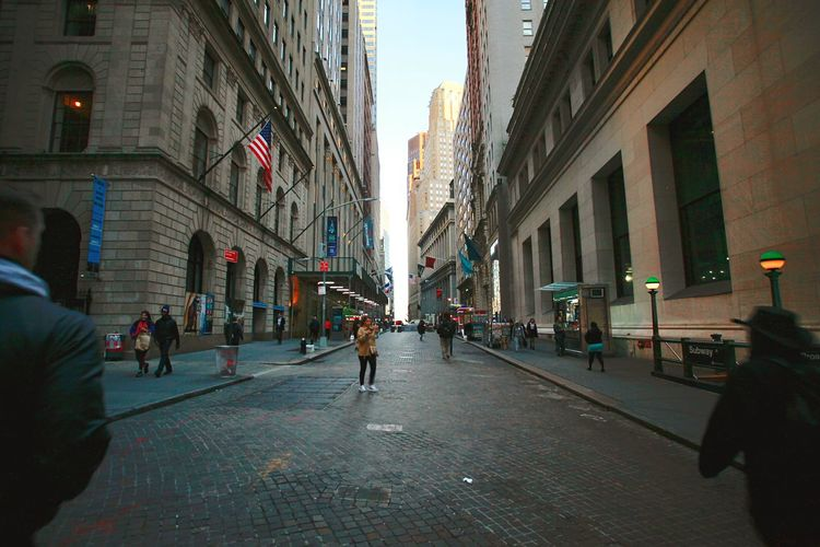 New York City Nocars Architecture Built Structure Street Walking City Life