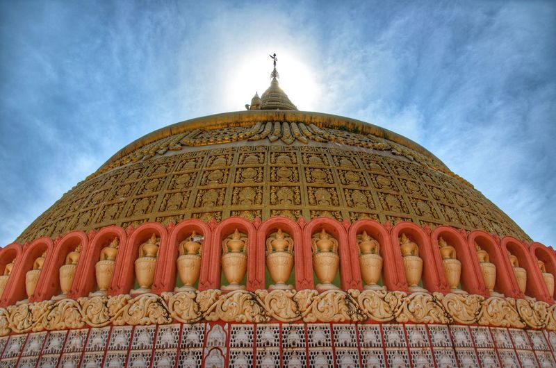 Bhuddist Center Religion Architecture Gold Dome Travel Destinations Beauty No People Capture Tomorrow