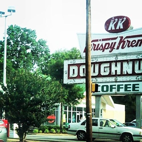 Missing @lkenn18 and loving these parts of Raleigh. Rdu Raleigh NC KrispyKreme