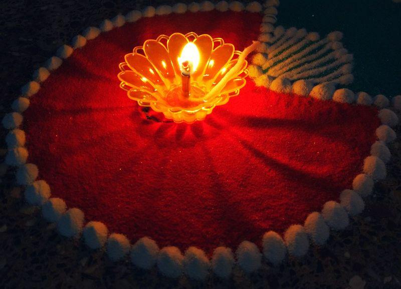 Traditional Festival Diya - Oil Lamp Diwali