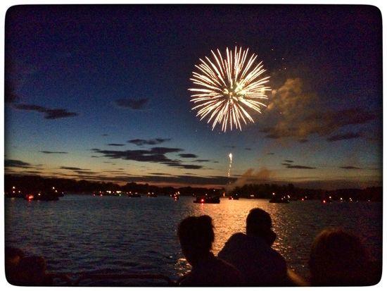 Holiday 4th Of July Fireworks Boats OpenEdit USA Lake EyeEm Best Shots Eye4photography  EyeEm Gallery