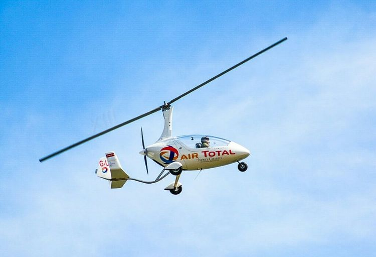 Gyrocopter..... Like the one used in a Bond film..... Sunderland Air Show 2014 Taking Photos Air Show Eye4photography