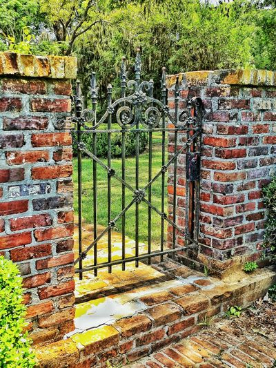 Rod Iron Rod Iron Gate Gate Old Gate With Lots Of Memory