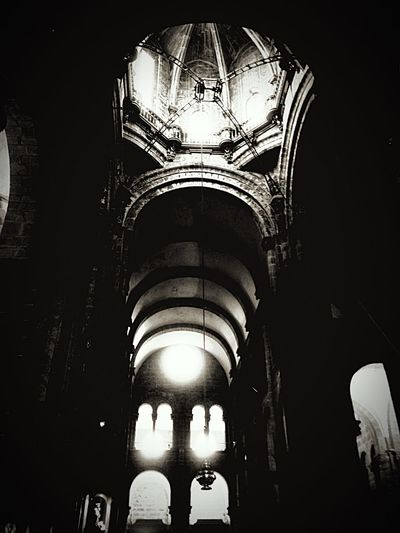 Church Spain♥ Catedral De Santiago Blackandwhite CaminodeSantiago