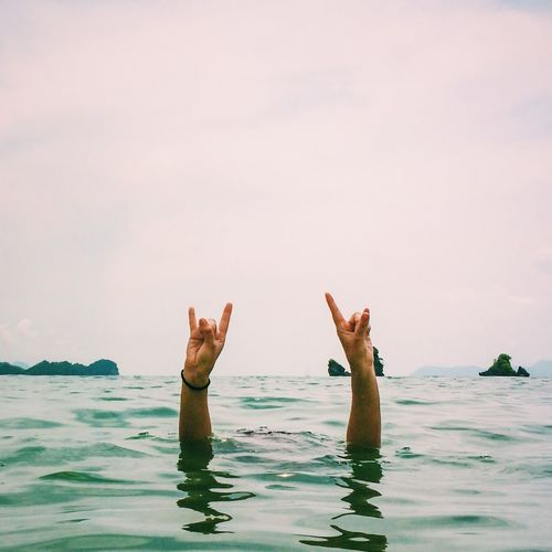 IPS2015Summer Hands On Cool Happy Enjoying Life Beach Summer Summertime Sea Paradise