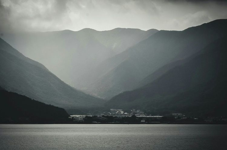 山水 河口湖 山梨 Japan