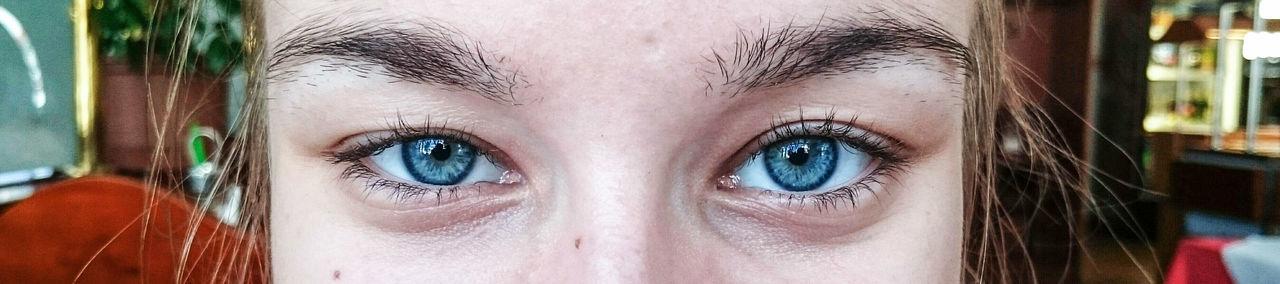 Eyes Are Soul Reflection Blue Eyes