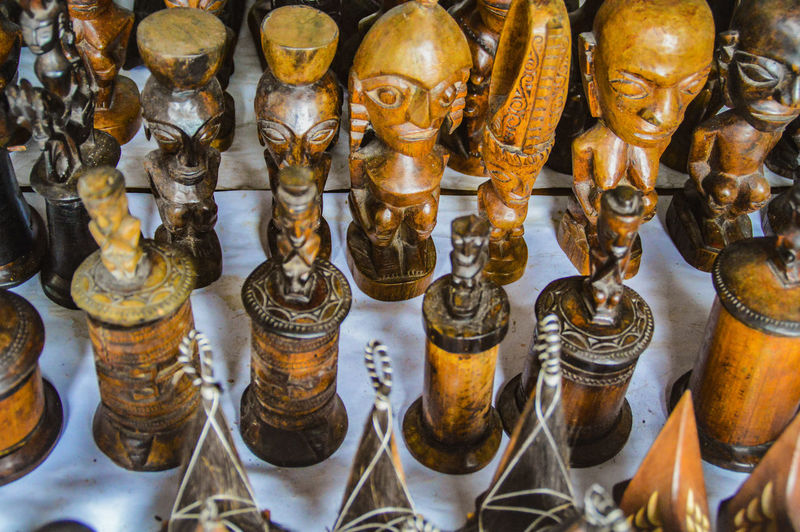 Batak art sold in the souvenir shop Exoticism Exotic Destination Bataknese Batak Art Batak  Ethnic Art Wooden Sculpure Culture Tourism Batak Culture Travel Photography Travel ASIA Tourism Close-up For Sale Stall Display Sculpture Sculpted