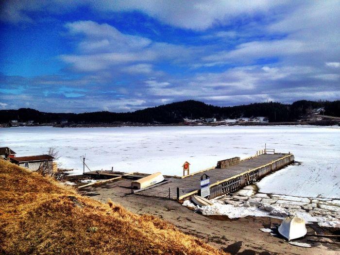 Landscape Taking Photos Winter Get Lost