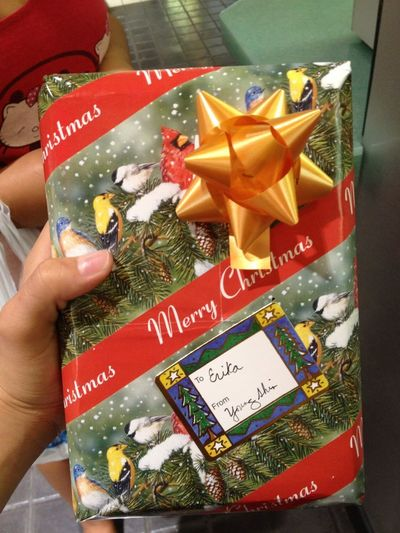 soo kayoote... a christmas present from my bosss.... ;)) thankyou And merry christmas to you Ms.Young