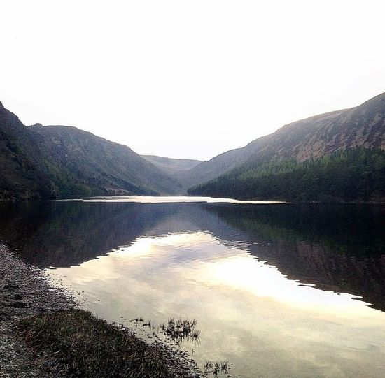Beauty In Nature Lake Mountain Sky Nature Outdoors No People Glendalough (The Valley Of Two Lakes) Ireland Landscapes