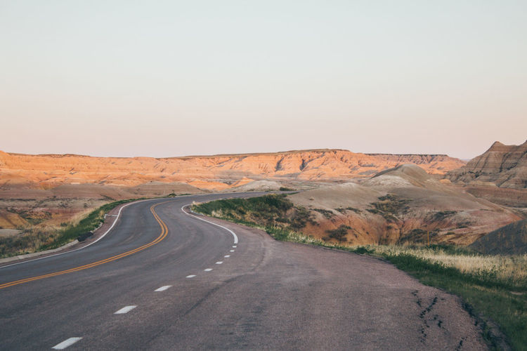 Road to Adventure Badlands Badlands National Park Badlands National Park, South Dakota Road South Dakota Adventure Beauty In Nature Sunset Sunset #sun #clouds #skylovers #sky #nature #beautifulinnature #naturalbeauty #photography #landscape First Eyeem Photo