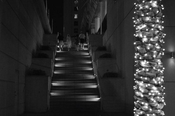 Dubai Jumeriah Marina JLT Stairs