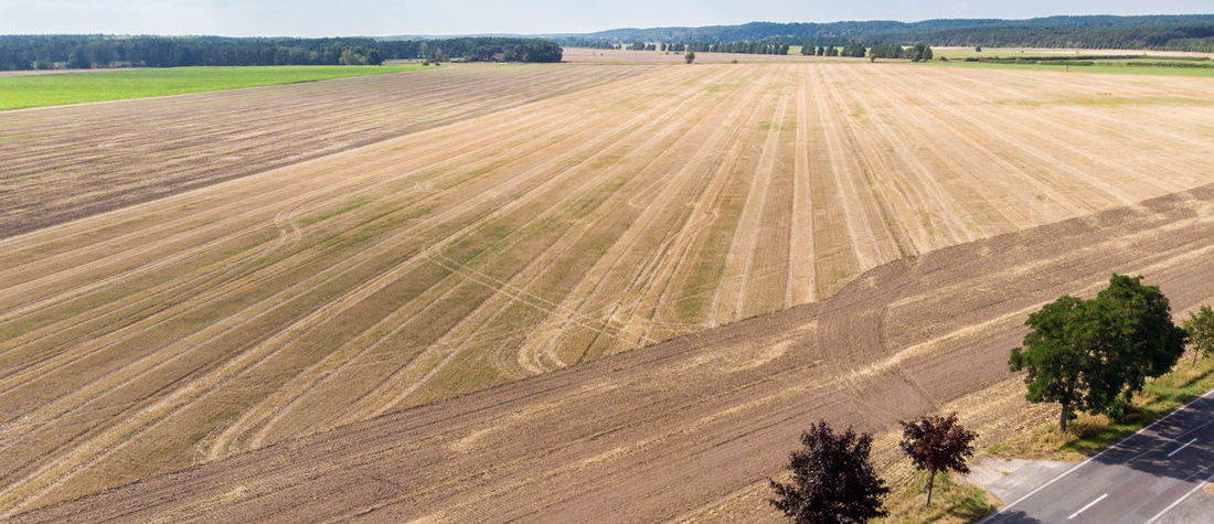 DJI Mavic Air Drone  Drone Landscape Agriculture Beauty In Nature Day Dji Drone Photography Drone View Environment Farm Field Growth High Angle View Land Landscape Nature No People Outdoors Plant Rolling Landscape Rural Scene Scenics - Nature Tranquil Scene Tranquility Transportation Tree